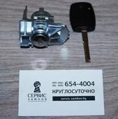 Сердцевина водительской двери с ключом. Ford Focus - 2 поколения