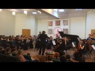 С. И. Танеев - Канцона для кларнета и струнного оркестра.