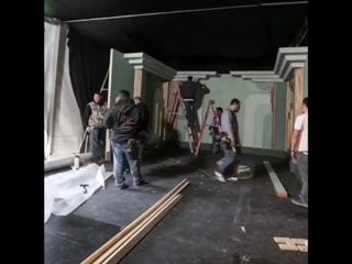 Mark Seliger Oscar backstage