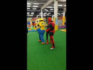 Инструктор  #облакасамара наказывает супергероев