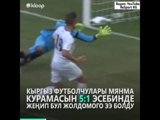Кыргызстан алгачкы жолу футбол боюнча Азия чемпиондугуна өттү
