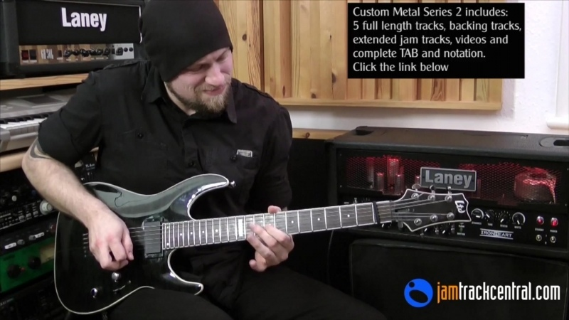 Andy James Time and Time Again (Full Length) from Custom Metal Series 2 ¦ JamTrackCentral.com