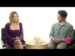 TruthOrDareMovies @LucyHale and @tylergposey stopped by to talk about their favorite scary