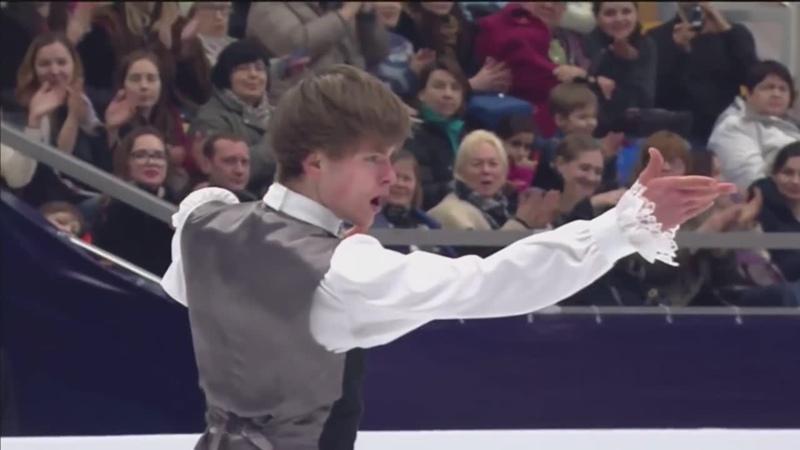Deniss Vasiljevs SP EC2018 without commentators HD
