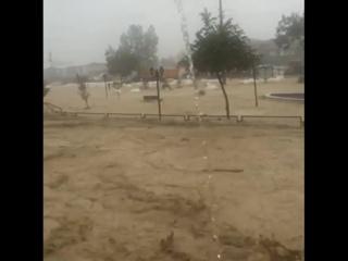 Мощный ливневый паводок в городе Сакарья, Турция -