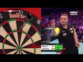 Belgium vs Germany (PDC World Cup of Darts 2019 / Round 2)