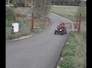 Мать с детьми на квадроцикле врезались в железные ворота