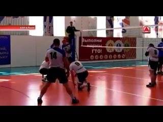 Репортаж ТК «Инфосервис» о юбилейной спартакиаде по волейболу среди трудовых коллективов г. Когалым