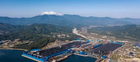 Угольный терминал «Восточный Порт» — морские ворота в Азию