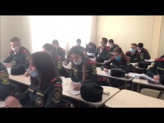 Экскурсия по Сибирской пожарно-спасательной академии ГПС МЧС России (Железногорск)