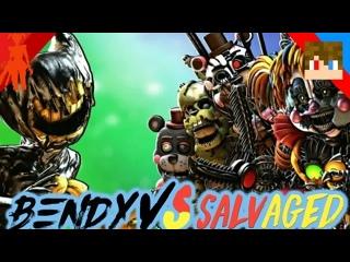 Tihonsyah - [SFM FNAF] Bendy VS SALVAGED