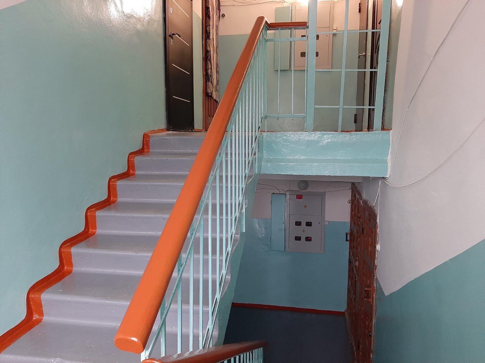 Улица Добролюбова дом 21 закончился декоративный ремонт
