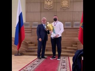 Награждение команды «Енисей-СТМ»