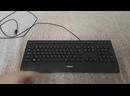 Клавиатура Logitech Corded Keyboard K280e Black USB