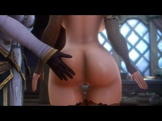 Hentai Art | Лучшие Хентай Арты Jaina gives Assumi a spank (noname55) [World of Warcraft]