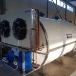 Охладитель молока закрытого типа — объём 7000 м3.