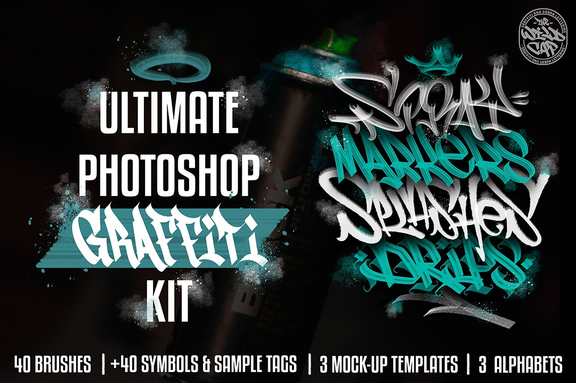 [Procreate] Ultimate Graffiti Kit