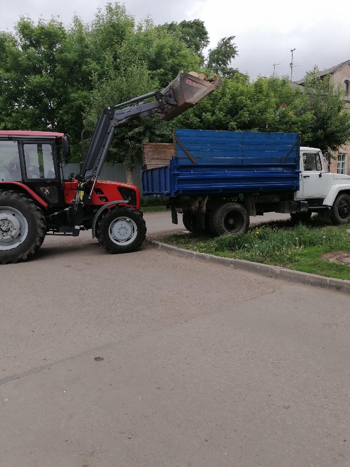Вывоз тюлек Октябрьский проспект 34