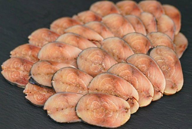 «Мурманское сало» или малосольная маринованная скумбрия