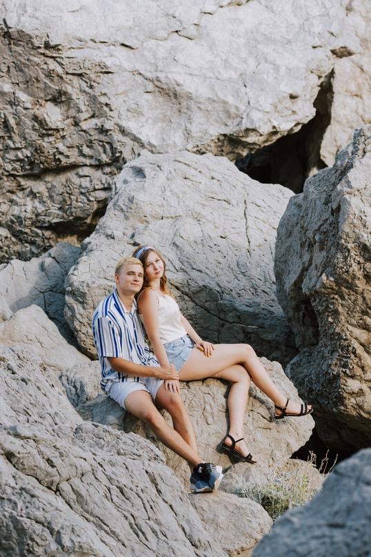 Love Story фотосессия в Симеизе - Фотограф MaryVish.ru