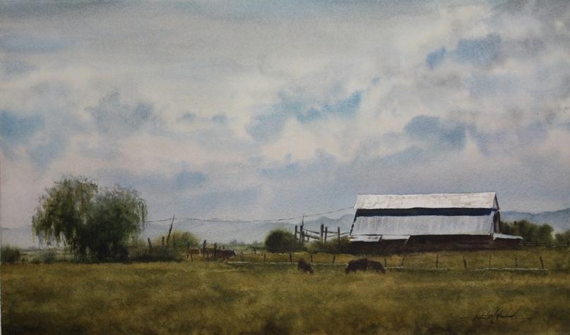 Американский художник-акварелист. Robert McFarland, изображение №29