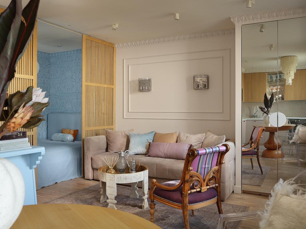 Дизайн квартиры 36 кв.