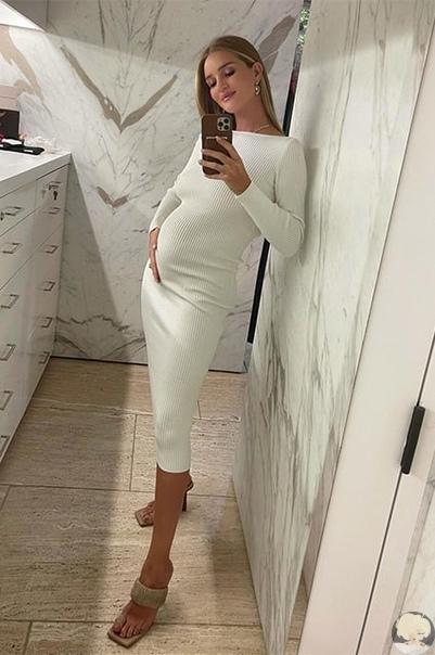 Рози Хантингтон-Уайтли и Джейсон Стэтхем ждут второго ребенка