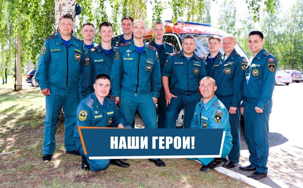 Ижевские пожарные спасли 12 человек!Сообщение о пожаре