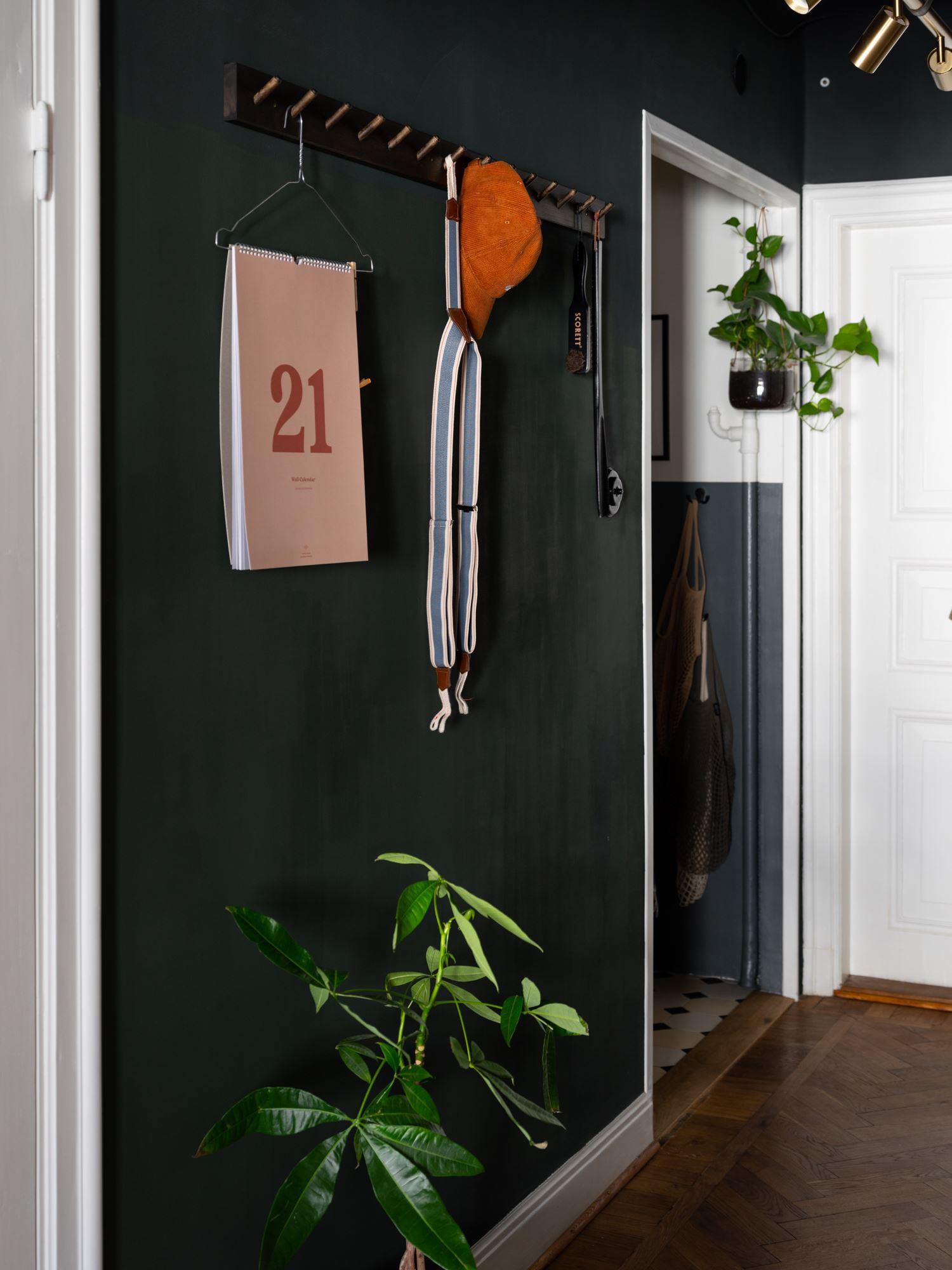 Винтажный интерьер квартиры-студии 28 кв.