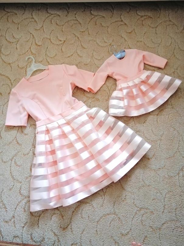 Платья в стиле фемили лук для мамы 44р и   Объявления Орска и Новотроицка №23733