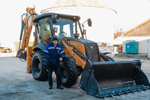 Транспортный цех филиала ПСЦМ принял в работу новый экскаватор.