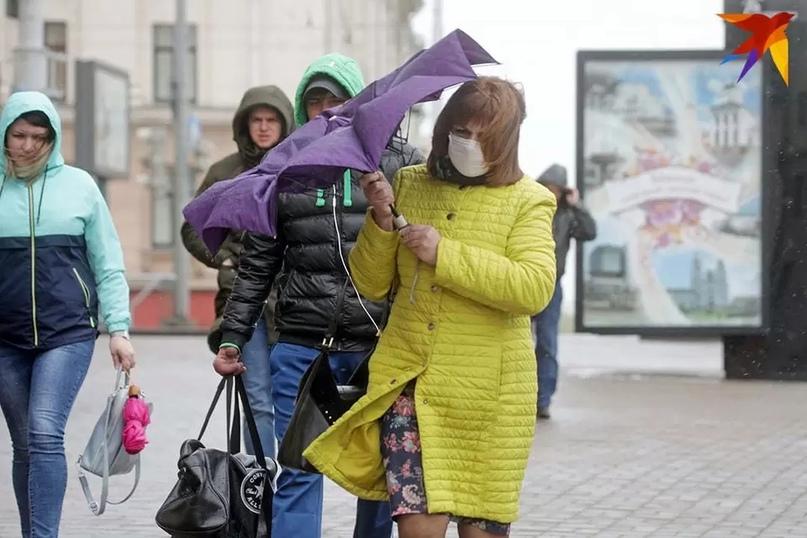 Оранжевый уровень опасности объявлен в Беларуси на пятницу