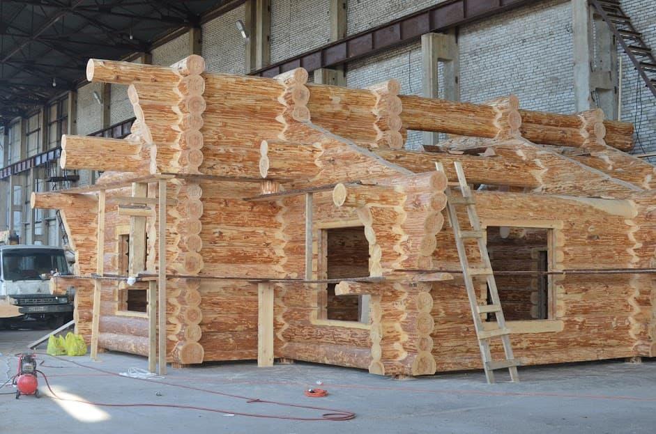 Построить дом из круглого бревна