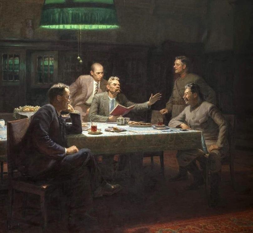 11 октября 1931 года в этот день к Максиму Горькому пришли важные гости: Иосиф С...
