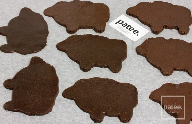 """Печенье """" Пасхальные барашки"""" шоколадное"""