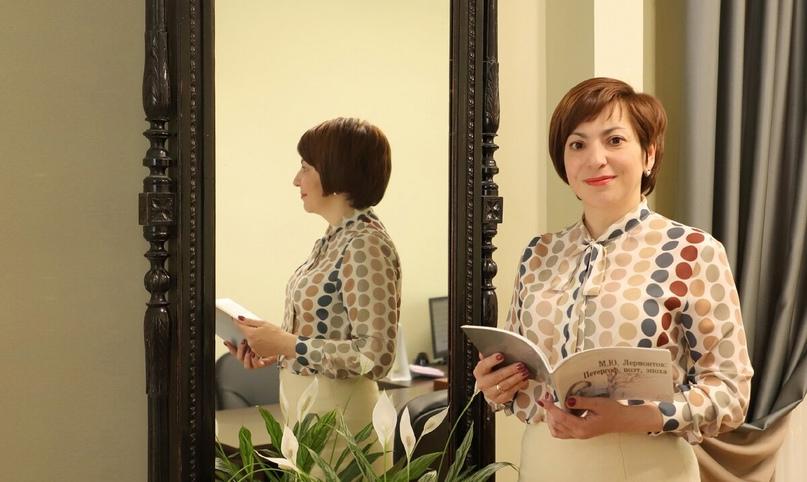 Ирина Вячеславовна Сафарова - директор Государственного музея-заповедника М. Ю. Лермонтова