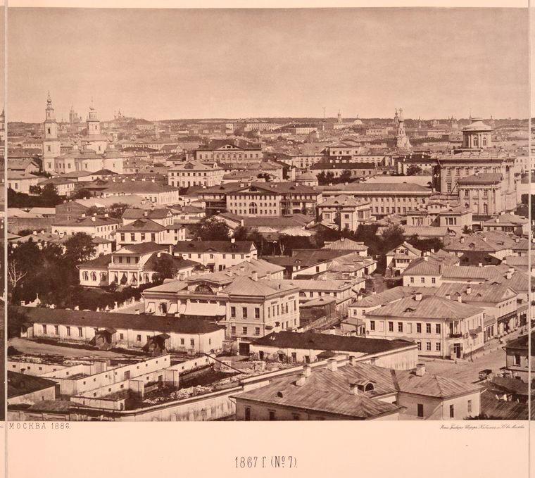 Москва без людей в 1867 году. Где все люди?, изображение №20