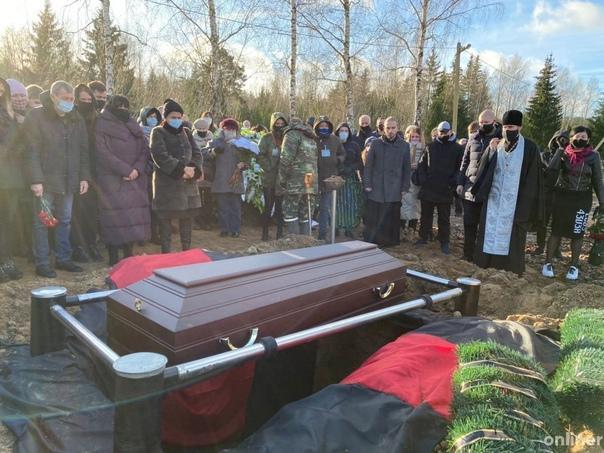 Героя Беларуси Романа Бондаренко похоронили. ёв