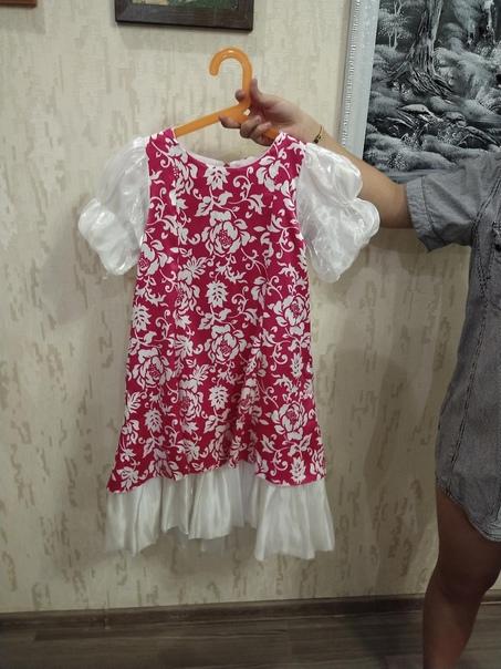Платье в хорошем состоянии одевалось на выступлени...
