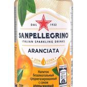 Напиток сокосодержащий San Pellegrino со вкусом апельсина