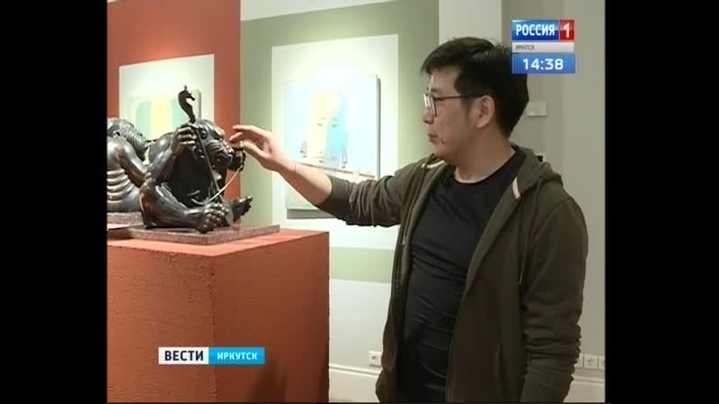 Выставка картин и скульптуры Бато Дашицыренова открылась в Иркутске