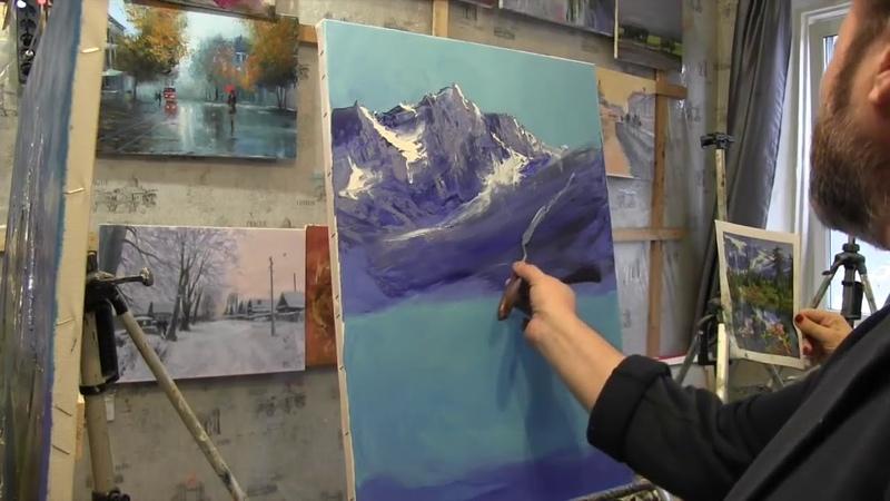 Уроки Игоря Сахарова в Москве живопись для начинающих научиться рисовать