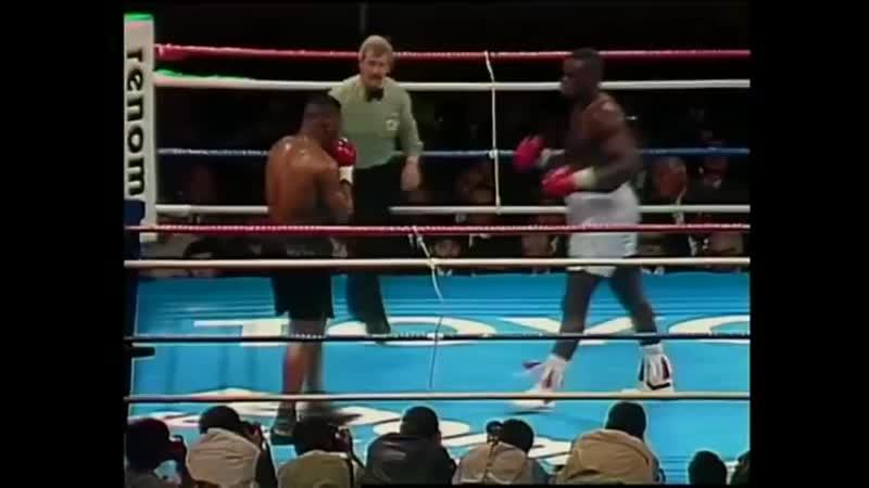 Mike Tyson vs James Buster Douglas KO Майк Тайсон - Джеймс Бастер Даглас Нокаут