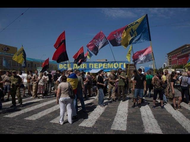 У Харкові добровольчі батальйони пікетували Облраду 23 06 2016