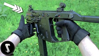 Real SWAT Officer plays Airsoft with VECTOR SMG and Destroys EVERYONE