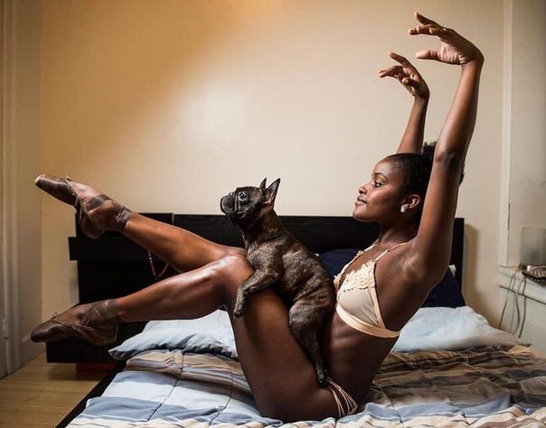 Фоторгаф Деймон Дален снимает балерин Нью-Йорка в их домах