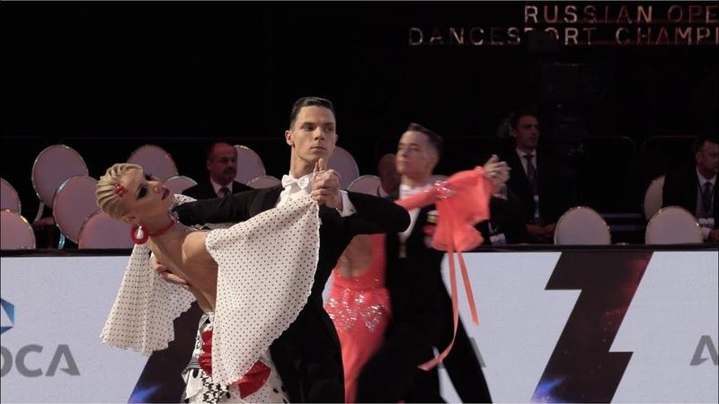 Tomas Fainsil - Violetta Posmetnaya GER, Tango | ROC 2018 WDSF GrandSlam Standard