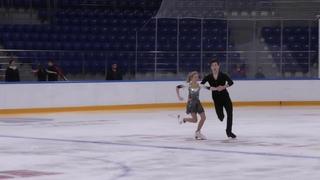 X зимняя Спартакиада учащихся юношеская Тaнцы нa льду Произвольный танец 7# Алиса ОВСЯНКИНА   Артём