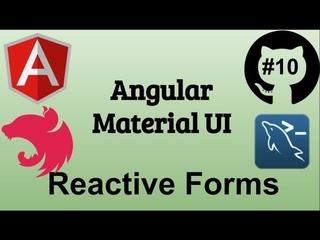 #10 Джедай веб разработки. Реактивные формы. Верстка логин формы. Практика Angular Material ui