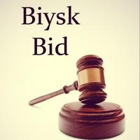 """Логотип Аукцион г. Бийска """"Biysk bid"""""""